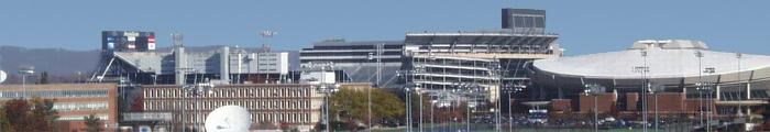 Beaver Stadium and Bryce Jordan Center